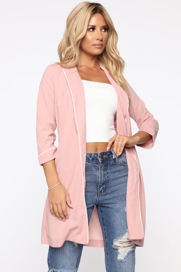 924ed68eb2a Good Girl Blazer - Pink