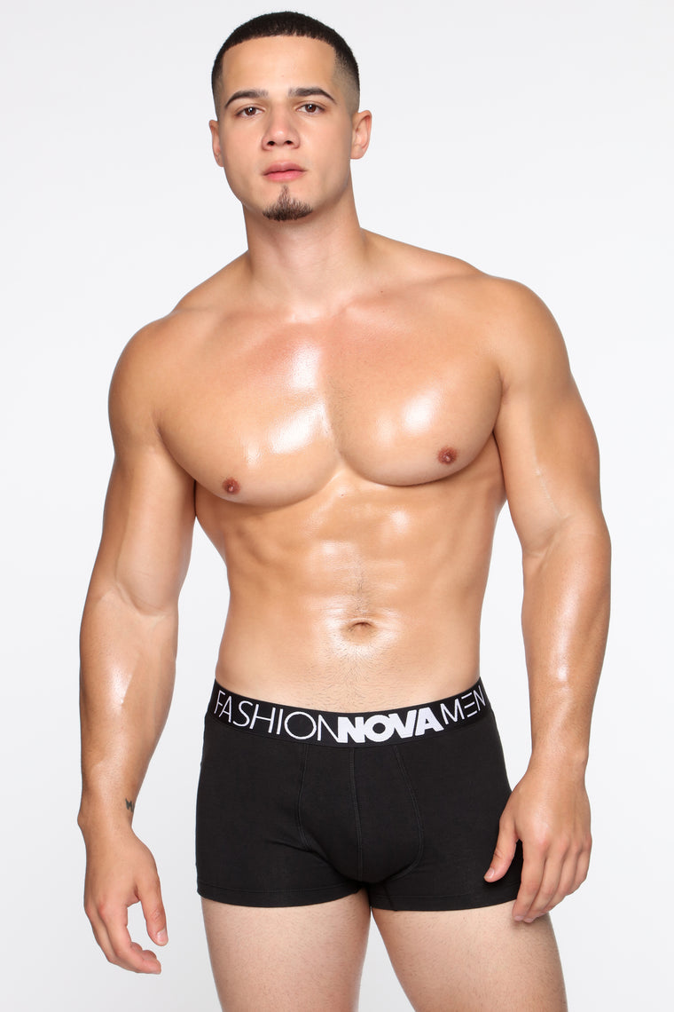 FN Boxer Trunks - Black