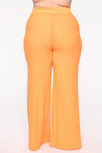 Get Over You Pant Set - Orange
