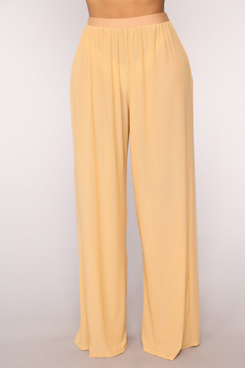 Dare To Cover Coverup Pant - Beige