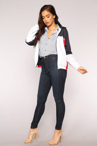 Young American Jacket - White/Combo