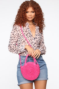 Summer Boo Bag - Fuchsia