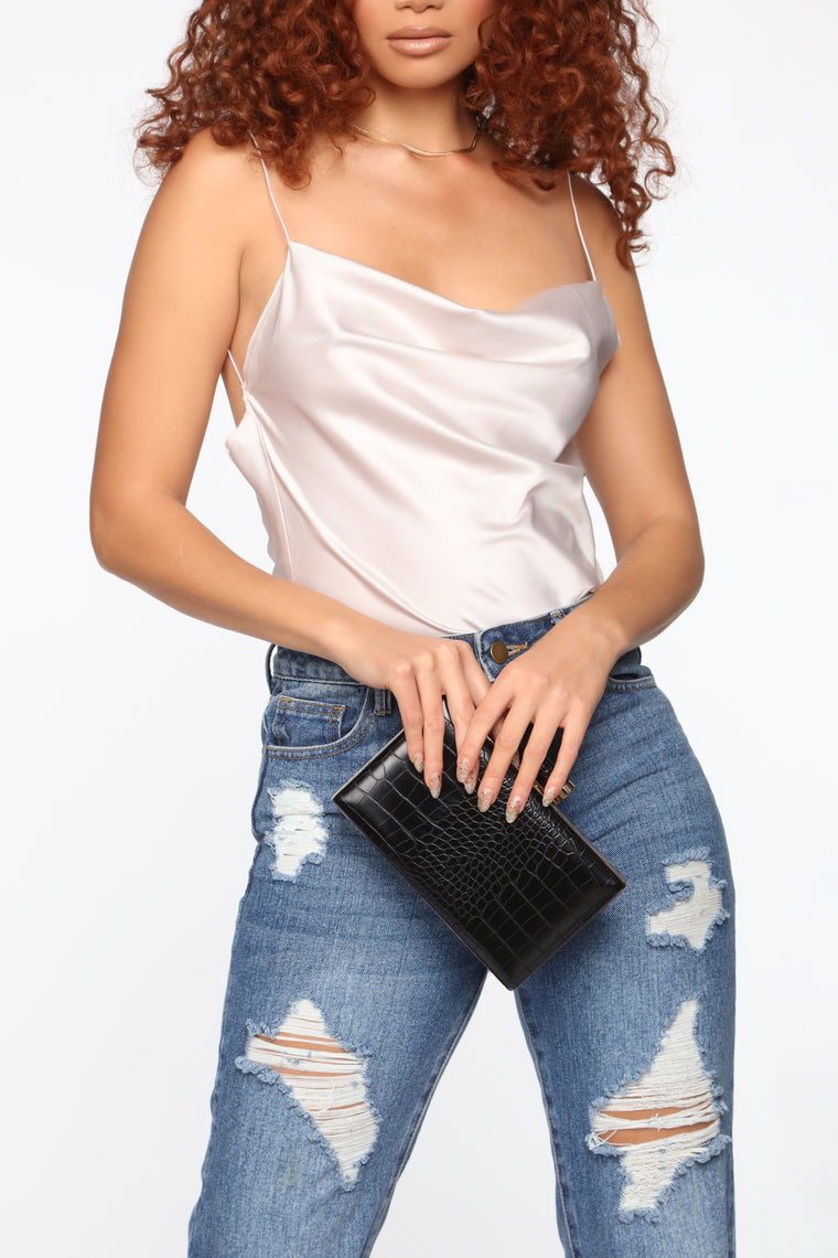 Some Type Of Way Clutch - Black