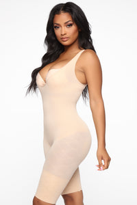 Bring It In Shapewear Bodysuit - Nude