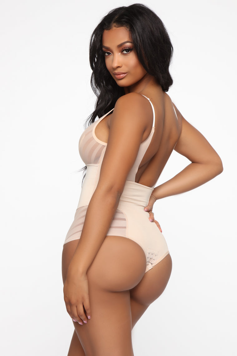 Shape Of Love Shapewear Bodysuit - Nude