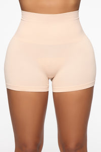 For The Shapewear Boyshort - Nude