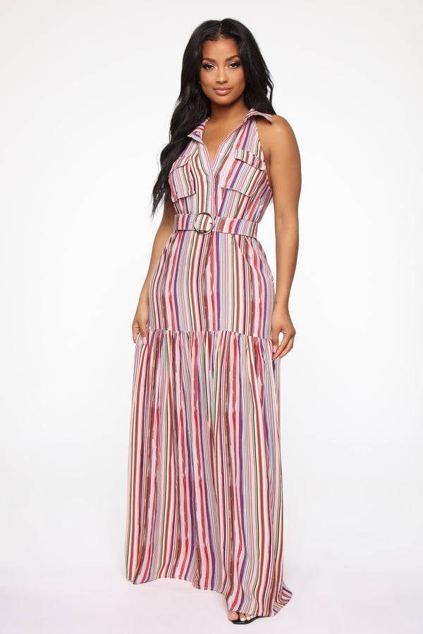 dff95bb8495d Fame And Fortune Maxi Dress - Multi Color