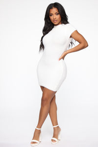 Party In The Hills Dress - White