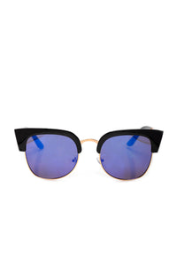 In Your Reach Sunglasses - Black/Blue