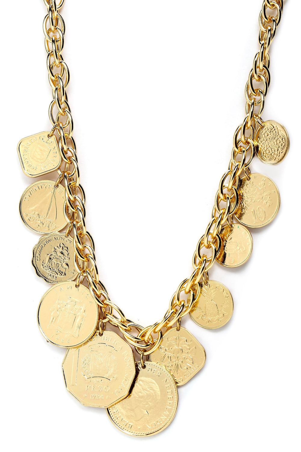 Got The Mula Necklace - Gold