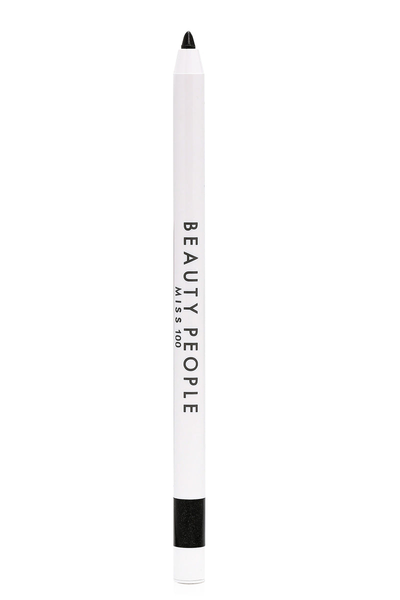 Beauty People Super Waterproof Gel Liner - Real Black