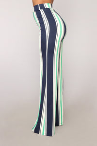 Vicky High Rise Pants - Green