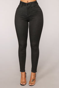 Squat Like That Booty Lifting Jeans - Black