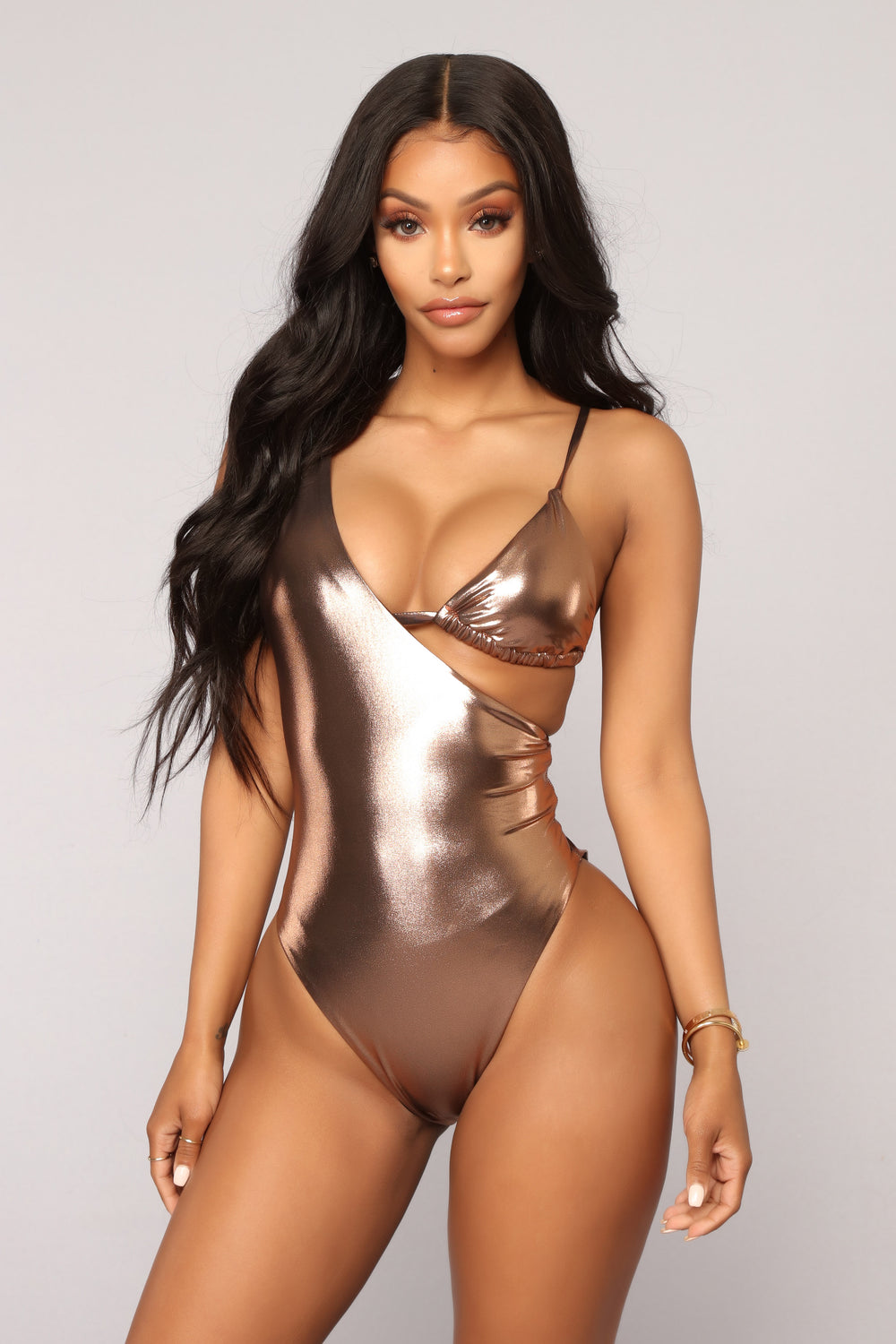 Summer Breeze Swim Set - Pink/Copper