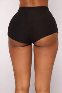 Tennis Champion Short Set - Black/White