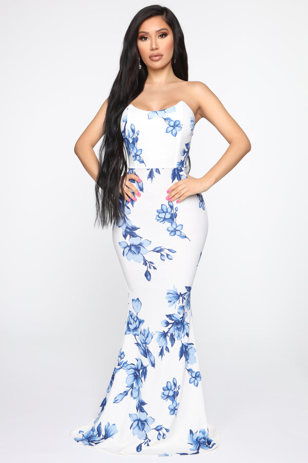 e13bd18138c8 Day Of Delight Floral Maxi Dress - White/combo