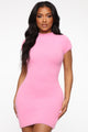 Party In The Hills Dress - Pink