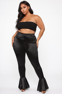 Dance Into Your Heart Flare Pants - Black Angle 7