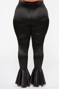 Dance Into Your Heart Flare Pants - Black Angle 12