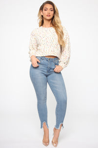Warm Thoughts Sweater - Ivory