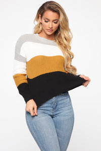On The Way Sweater - Heather/Combo