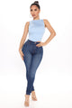 I Always Choose You Skinny Jeans - Dark Wash