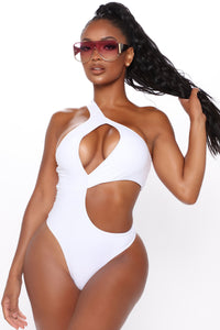 Mykonos Mami One Piece Swimsuit - White Angle 1