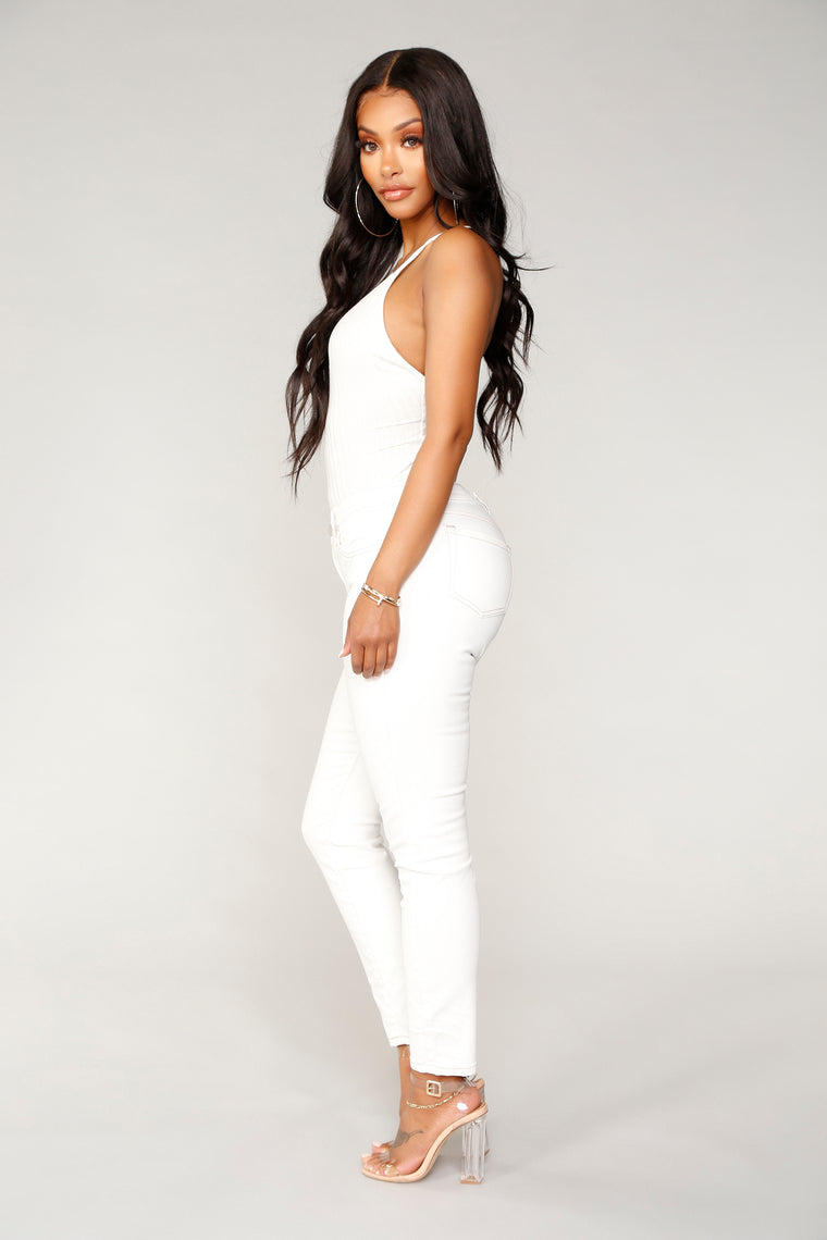 Cassidy Skinny Jeans - White