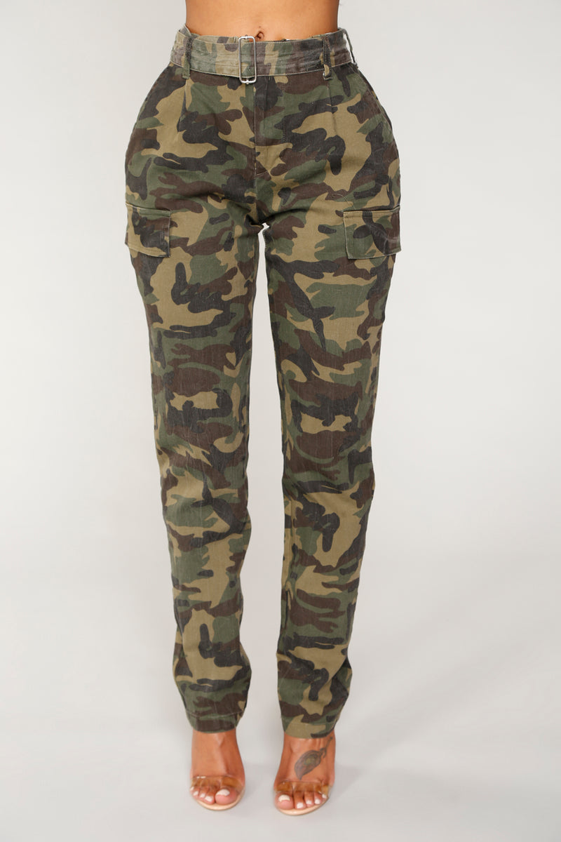Now You See Me Camo Pants - Camo