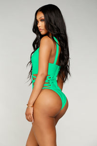 Situationship Swimsuit - Green