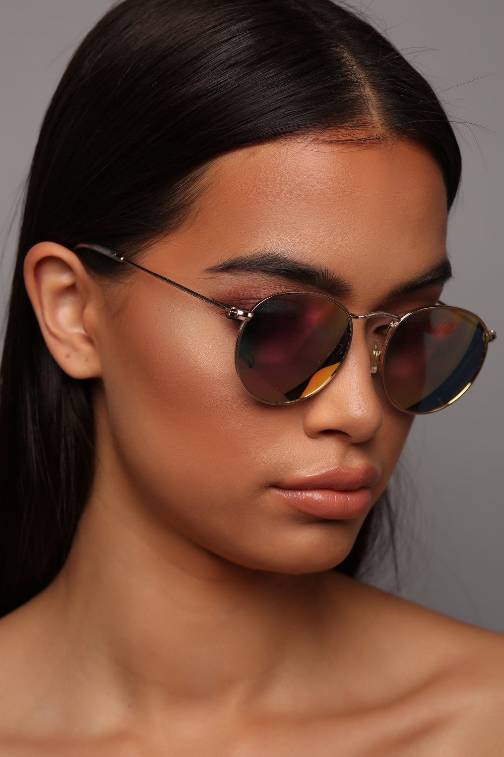 Playing Nice Sunglasses - Rose Gold
