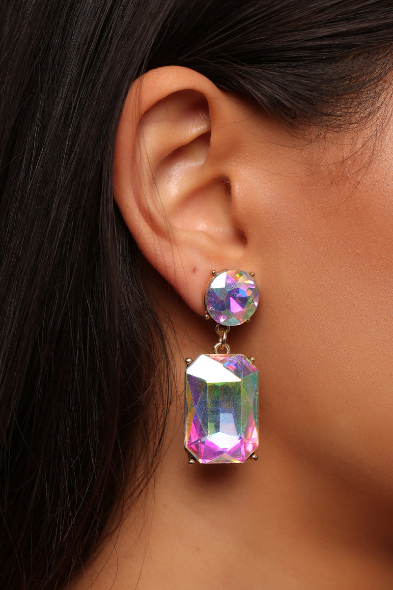 I'm So Irresistible Earrings - Iridescent