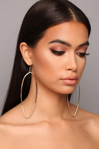 Glam And Go Earrings - Gold