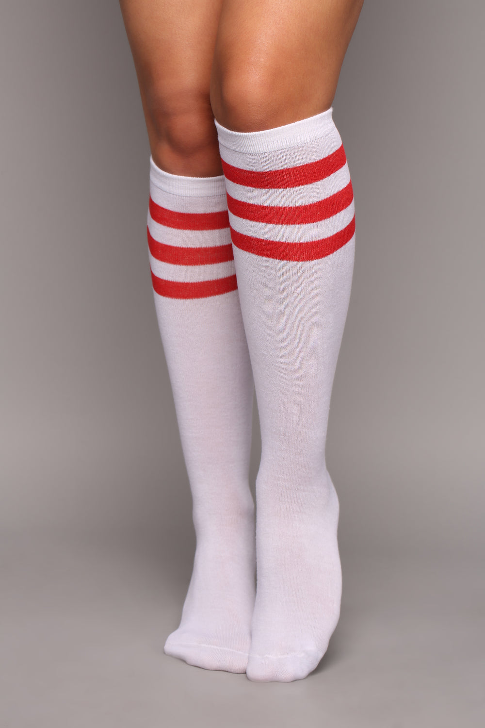 Not Your Average Knee High Socks - Red