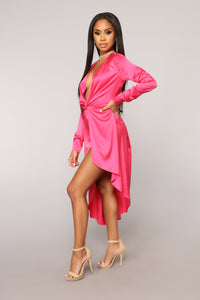 You Get Me Dress - Fuchsia