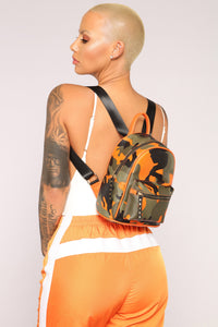 Camo Fabulous Backpack - Orange