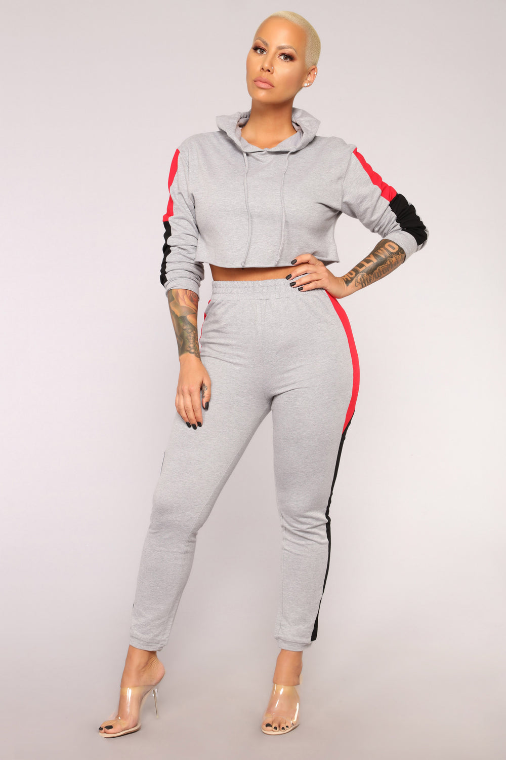 Kyra Lounge Set - Grey