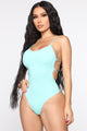 West Bay Swimsuit - Mint