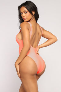 Nothing New Swimsuit - Coral
