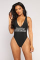 Nothing New Swimsuit - Black