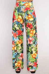 Take Me To Hawaii Pants - Multi