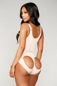 Nothing Left Butt Lifter Bodysuit - Nude