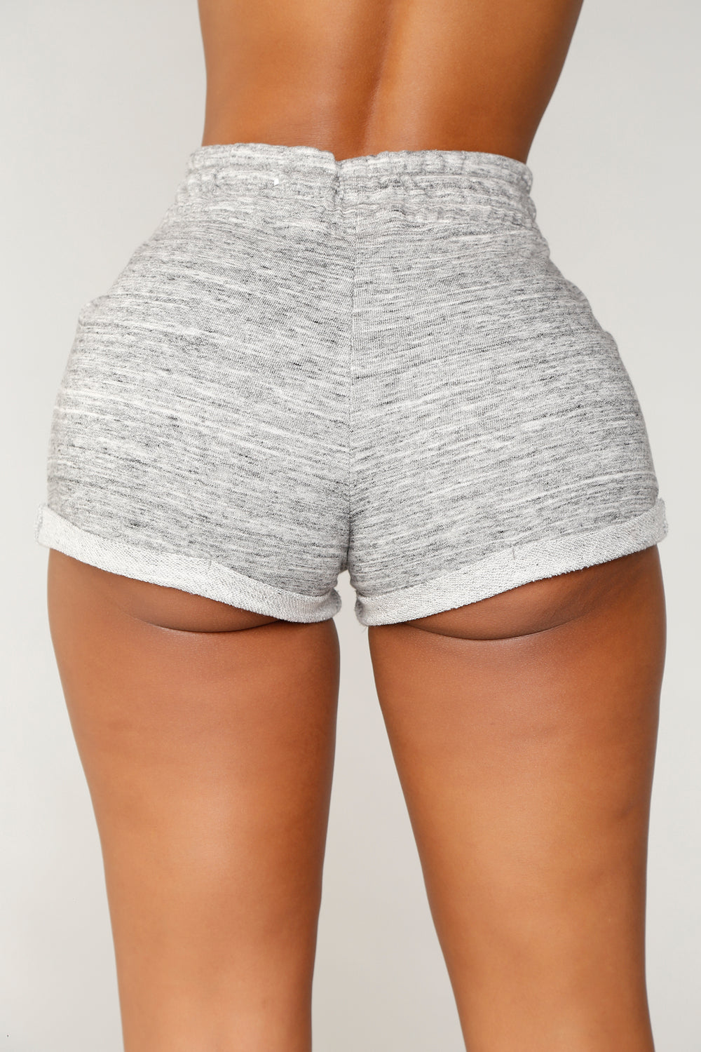 Myra Roll Up Shorts - Charcoal