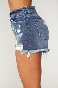 Me First Denim Shorts - Dark Denim
