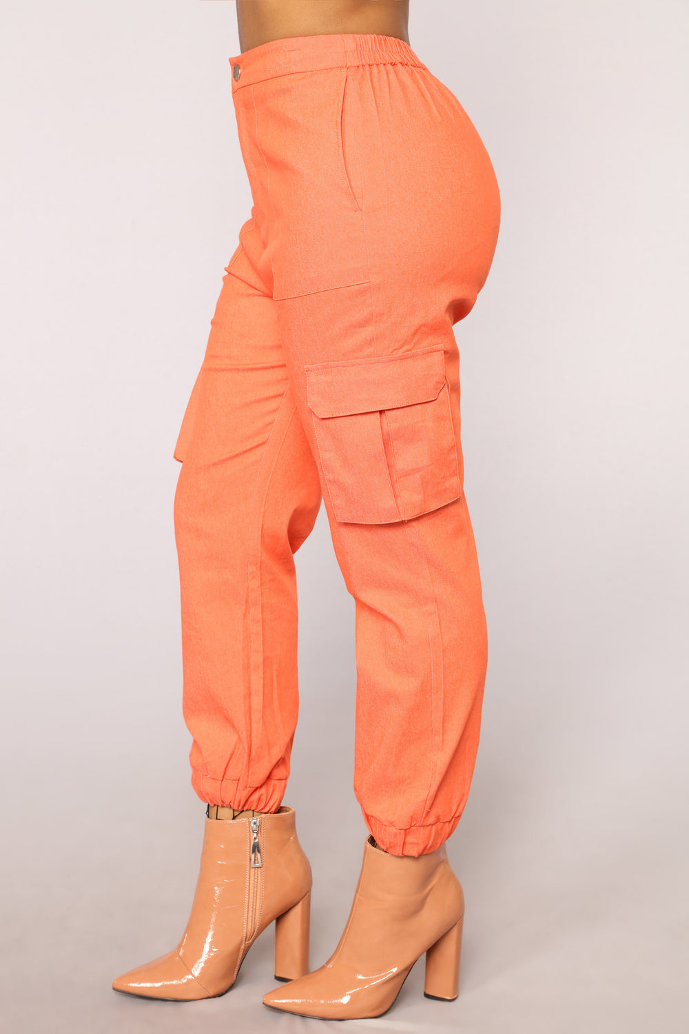 Amira Oversized Joggers - Orange
