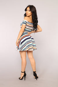 Chronic Sunshine Dress - Multi