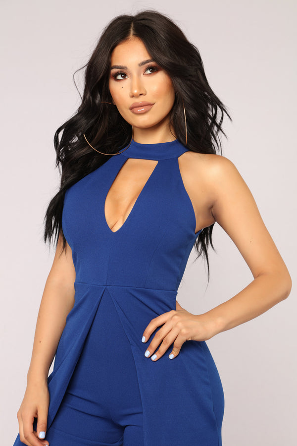 b8044343921d High Expectations Jumpsuit - Royal