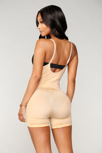Shape Shifter Shapewear Bodysuit - Nude