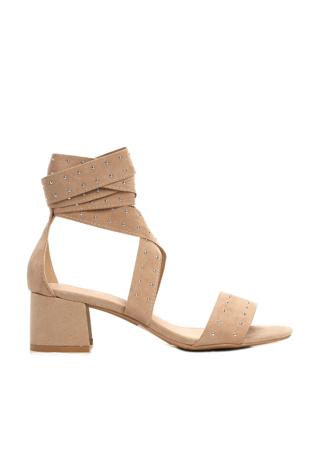 Professional Wrapper Sandals - Taupe