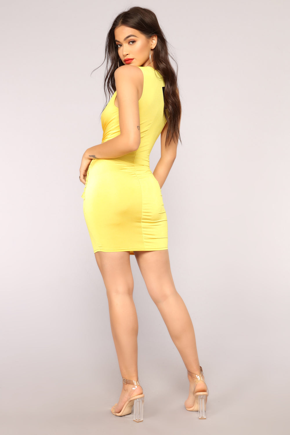 Isn't Life Wonderful Dress - Yellow